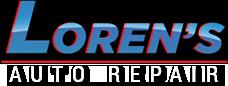 Loran's Auto Logo
