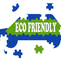 Eco Friendly Car Meaning Environmentally Clean Automobile