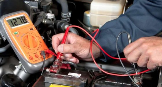 lorens auto repair car battery service